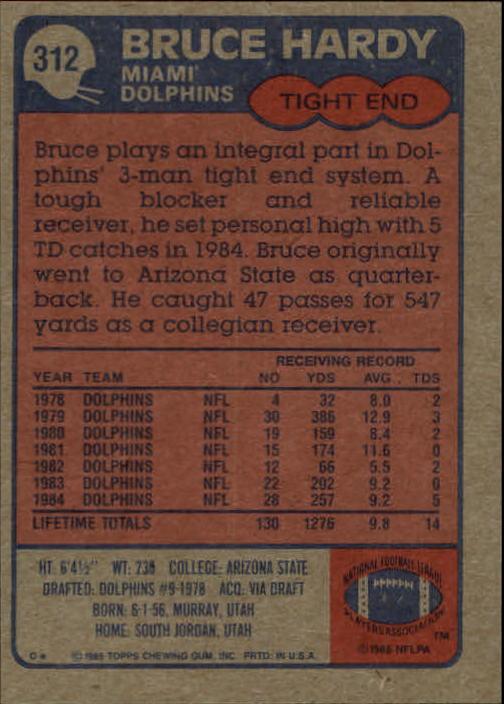 1985-Topps-Futbol-Tarjeta-Recoger-274-396 miniatura 67