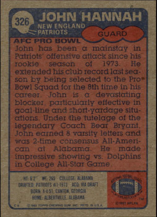 1985-Topps-Futbol-Tarjeta-Recoger-274-396 miniatura 87