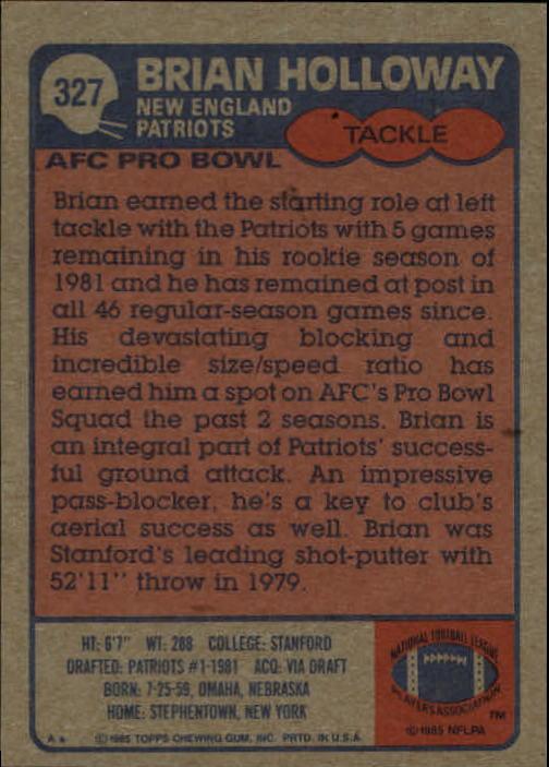 1985-Topps-Futbol-Tarjeta-Recoger-274-396 miniatura 89