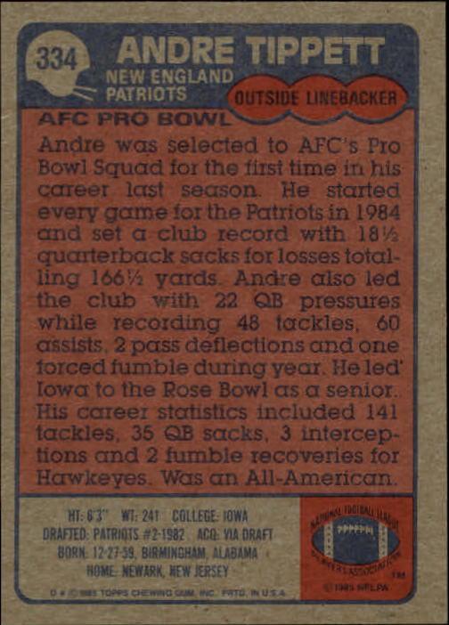1985-Topps-Futbol-Tarjeta-Recoger-274-396 miniatura 99