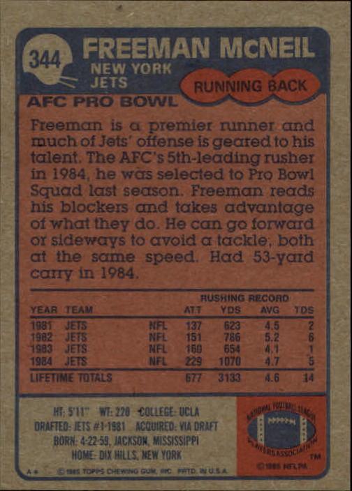 1985-Topps-Football-Card-Pick-274-396 thumbnail 120