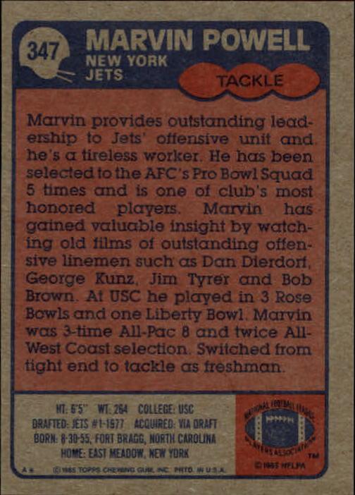 1985-Topps-Futbol-Tarjeta-Recoger-274-396 miniatura 125