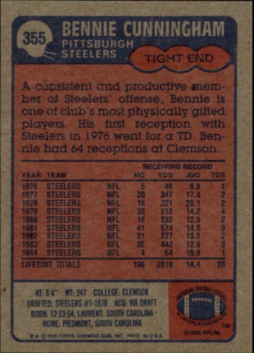 1985-Topps-Futbol-Tarjeta-Recoger-274-396 miniatura 131