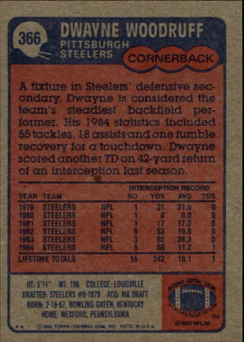 1985-Topps-Football-Card-Pick-274-396 thumbnail 146