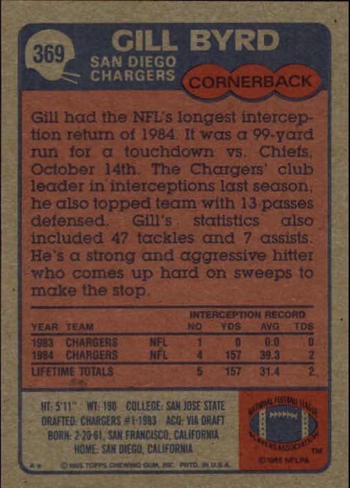 1985-Topps-Football-Card-Pick-274-396 thumbnail 152