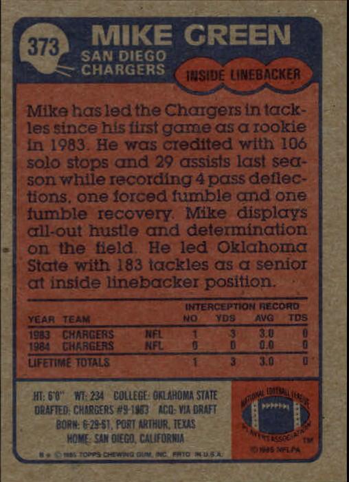 1985-Topps-Futbol-Tarjeta-Recoger-274-396 miniatura 157