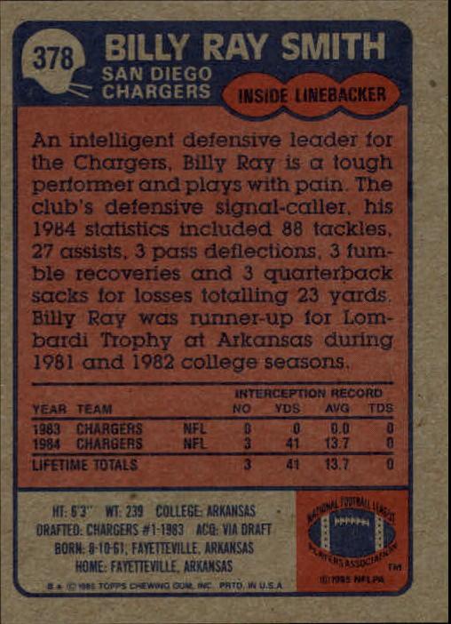 1985-Topps-Football-Card-Pick-274-396 thumbnail 168