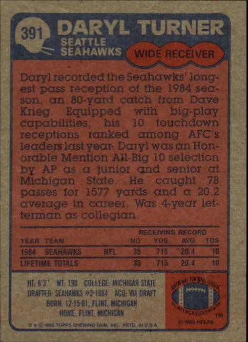 1985-Topps-Futbol-Tarjeta-Recoger-274-396 miniatura 193