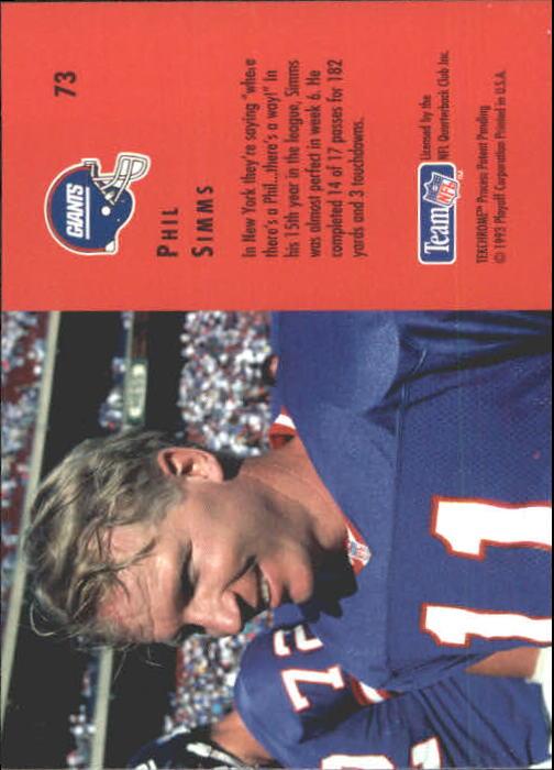 1993-Spareggio-Contenders-Calcio-Scheda-Scegliere miniatura 93