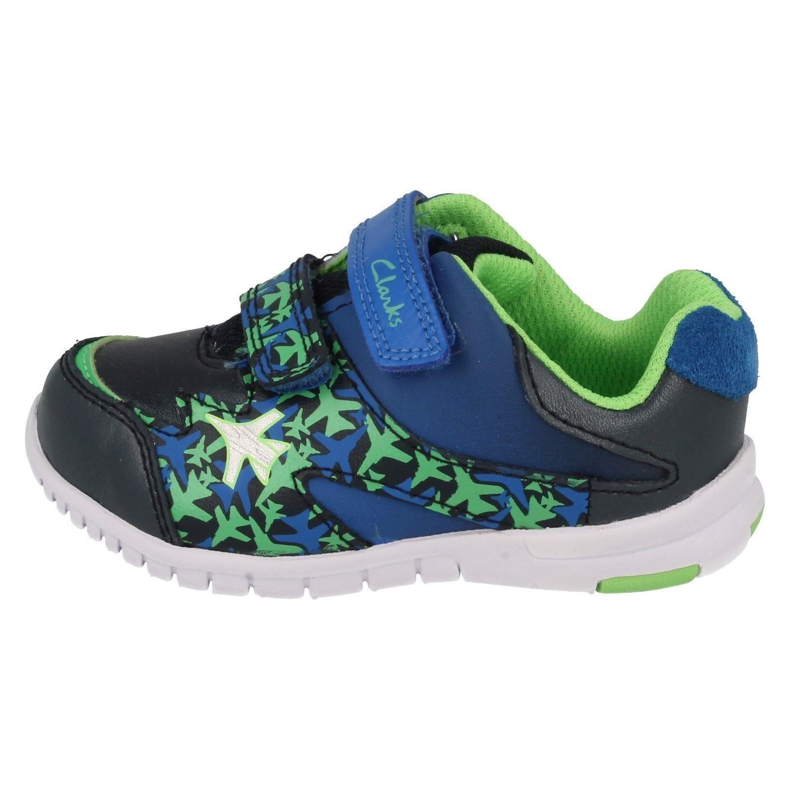 Azon Niños Zapatos Clarks Primeros Zoom ' TYzafq