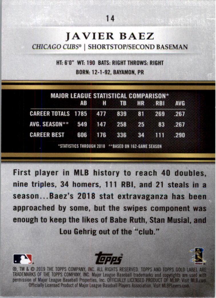 2019-Topps-Gold-Label-Class-2-Baseball-Card-Pick thumbnail 17
