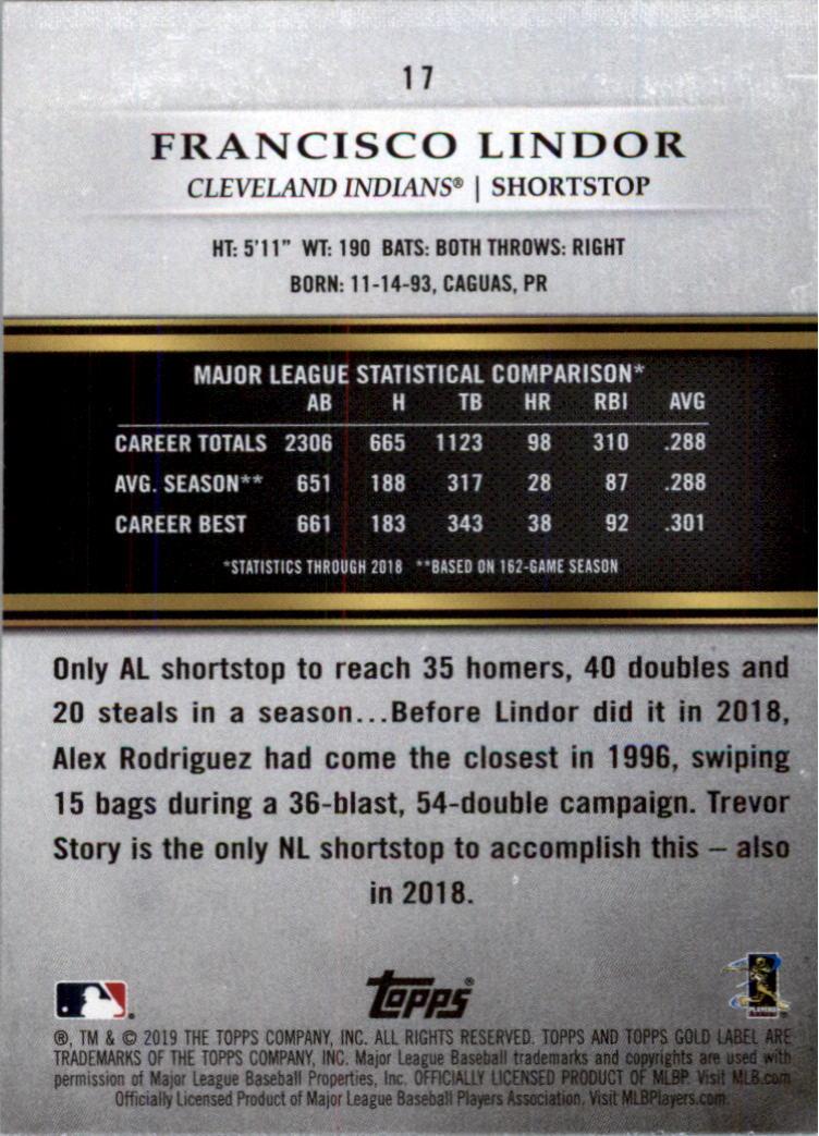 2019-Topps-Oro-Etichetta-Classe-2-Baseball-Scheda-Scegliere miniatura 21