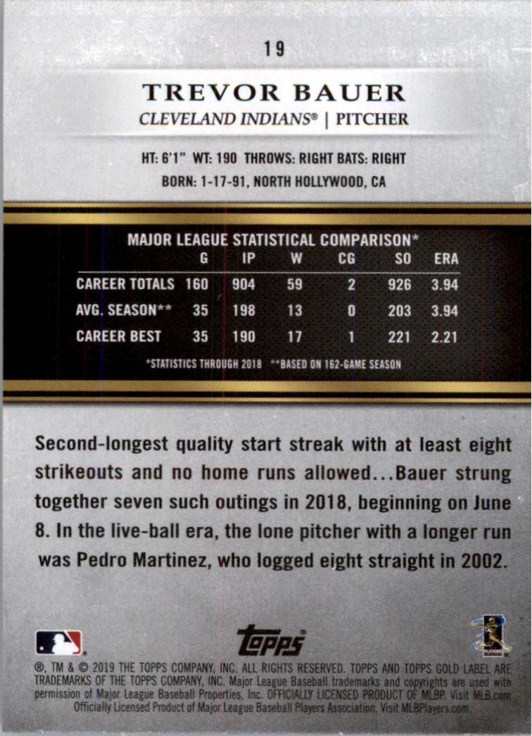 2019-Topps-Oro-Etichetta-Classe-2-Baseball-Scheda-Scegliere miniatura 23