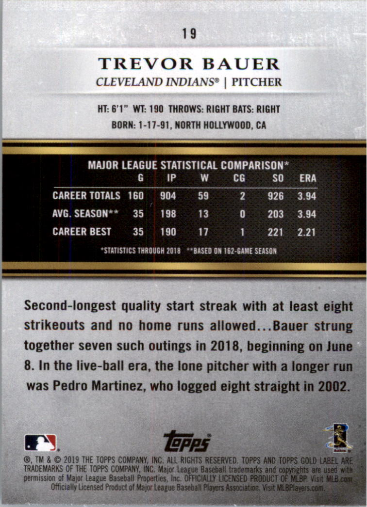 2019-Topps-Gold-Label-Class-2-Baseball-Card-Pick thumbnail 23