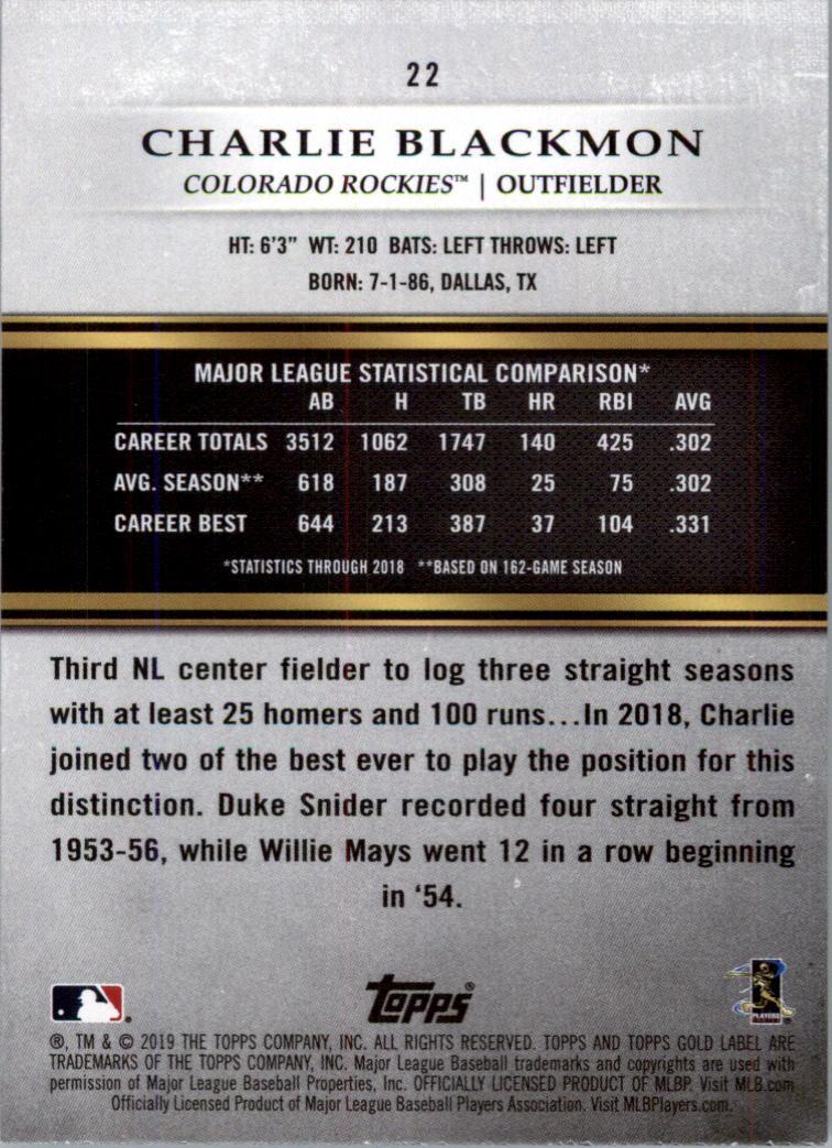 2019-Topps-Oro-Etichetta-Classe-2-Baseball-Scheda-Scegliere miniatura 29