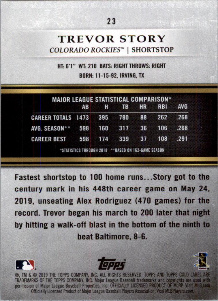2019-Topps-Oro-Etichetta-Classe-2-Baseball-Scheda-Scegliere miniatura 31