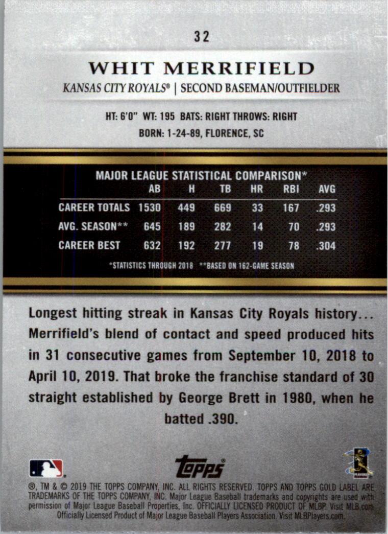 2019-Topps-Gold-Label-Class-2-Baseball-Card-Pick thumbnail 43