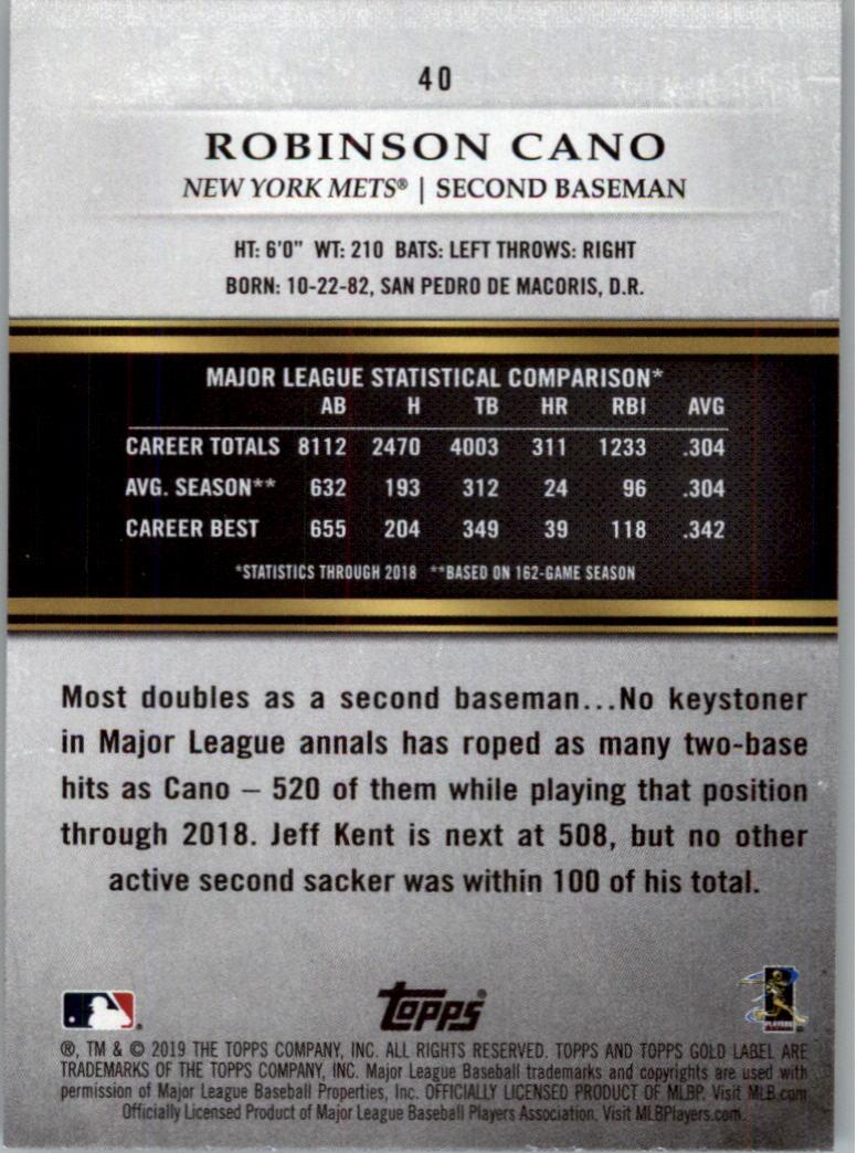 2019-Topps-Gold-Label-Class-2-Baseball-Card-Pick thumbnail 55