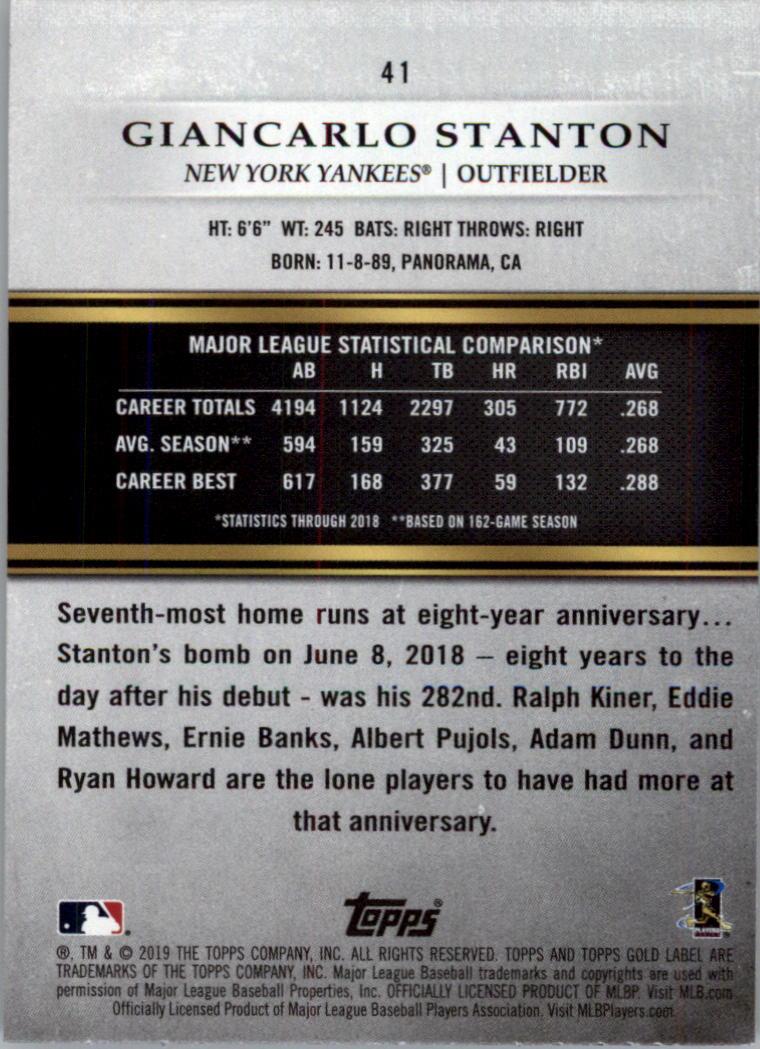 2019-Topps-Gold-Label-Class-2-Baseball-Card-Pick thumbnail 57