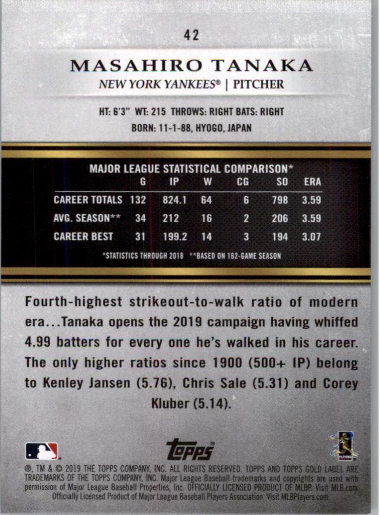 2019-Topps-Oro-Etichetta-Classe-2-Baseball-Scheda-Scegliere miniatura 57