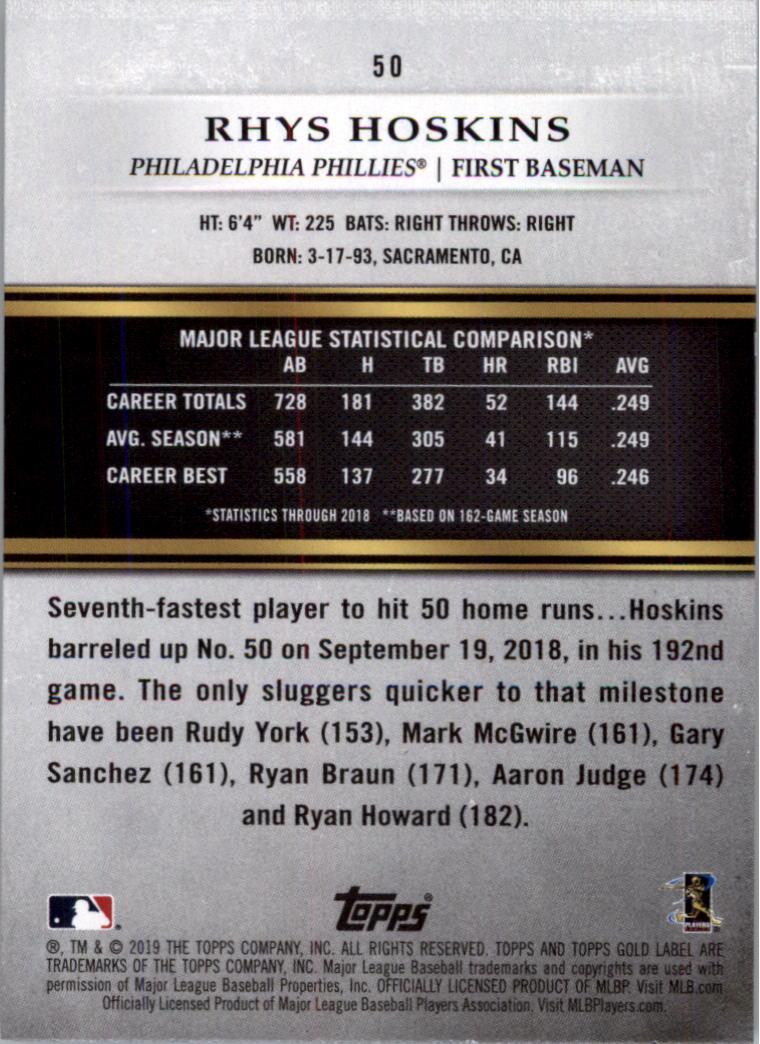 2019-Topps-Gold-Label-Class-2-Baseball-Card-Pick thumbnail 69