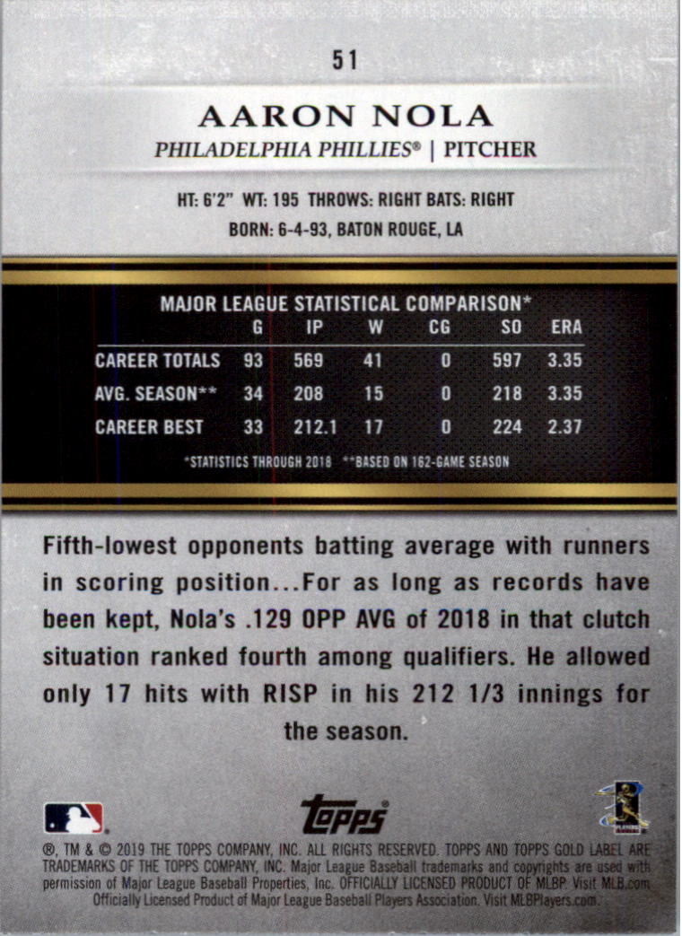 2019-Topps-Oro-Etichetta-Classe-2-Baseball-Scheda-Scegliere miniatura 69