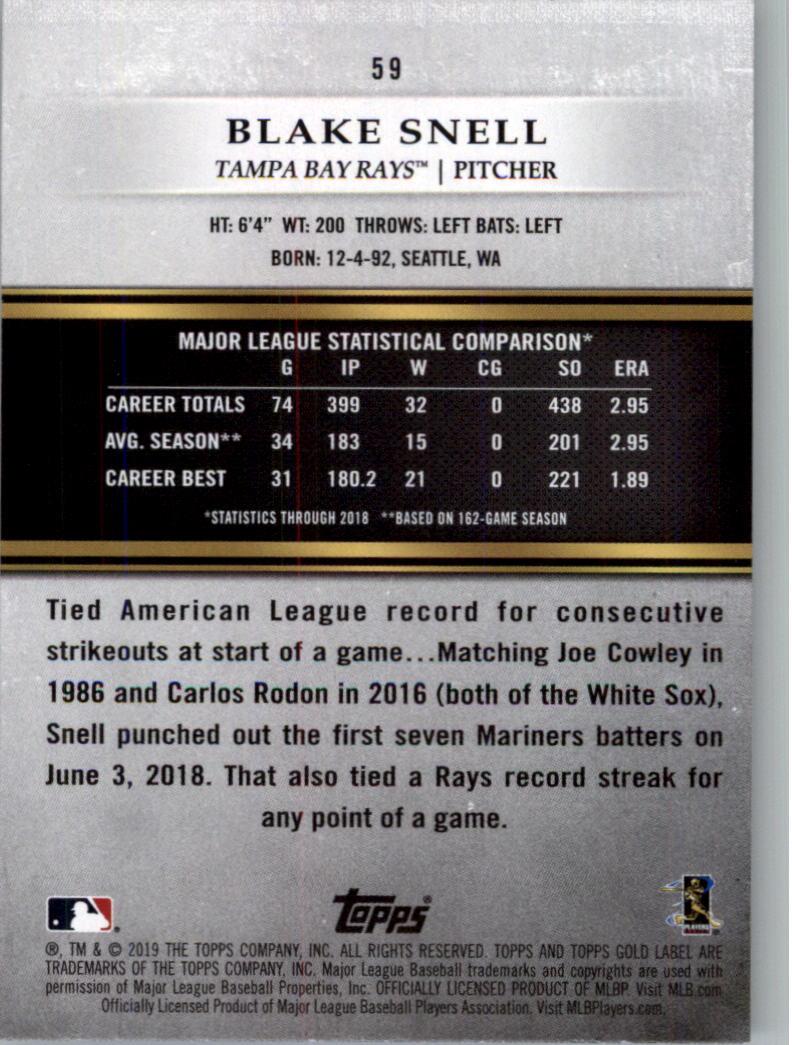 2019-Topps-Gold-Label-Class-2-Baseball-Card-Pick thumbnail 77