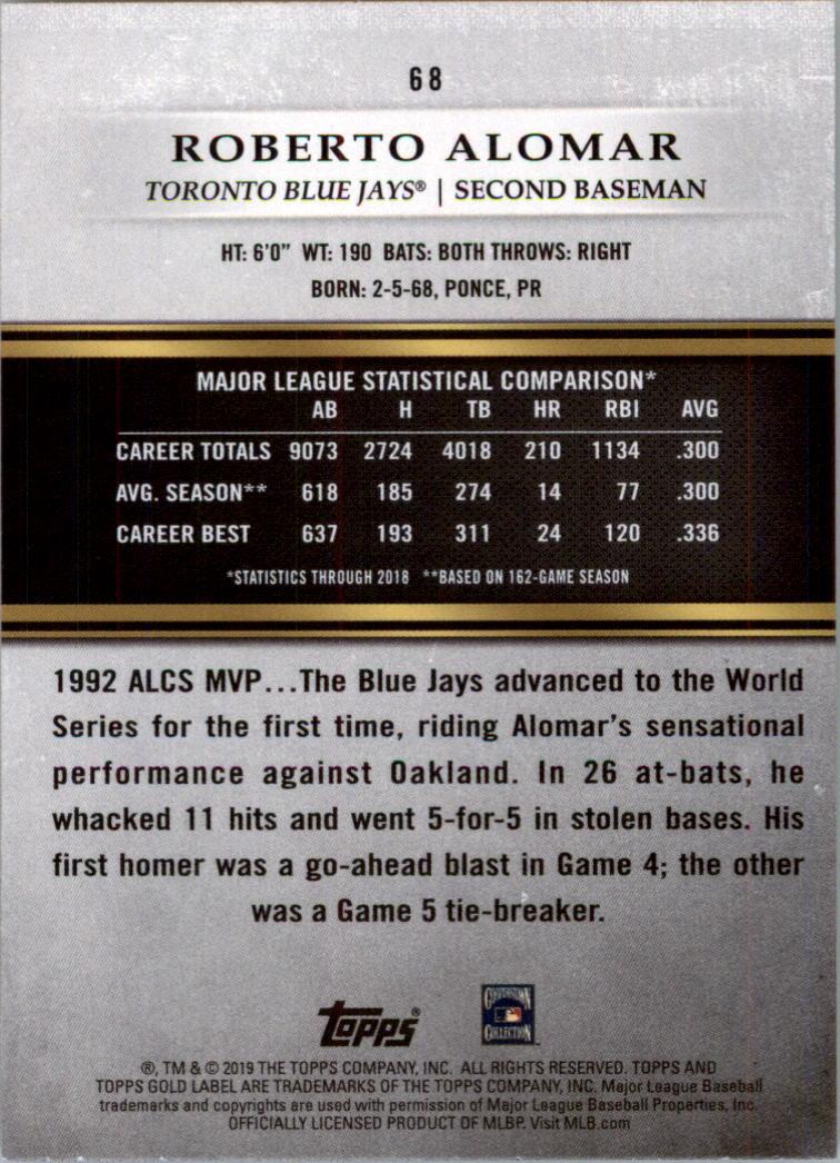 2019-Topps-Gold-Label-Class-2-Baseball-Card-Pick thumbnail 89
