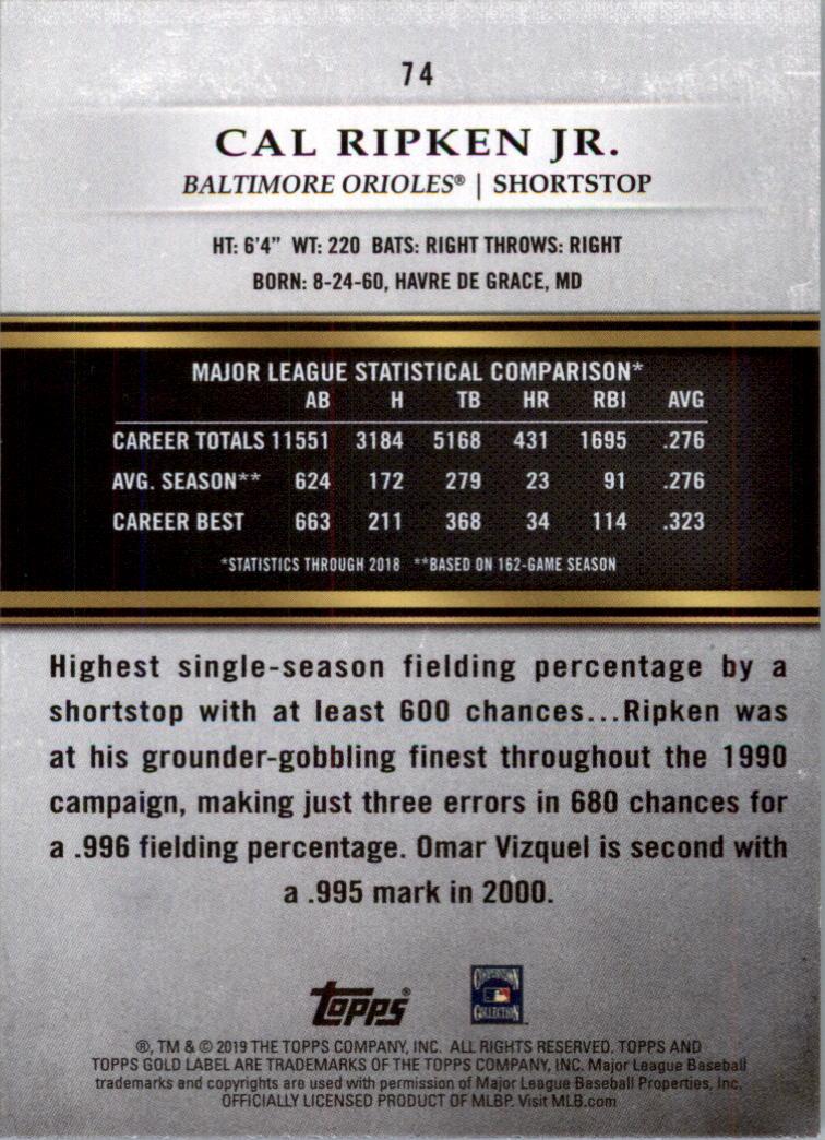 2019-Topps-Oro-Etichetta-Classe-2-Baseball-Scheda-Scegliere miniatura 93