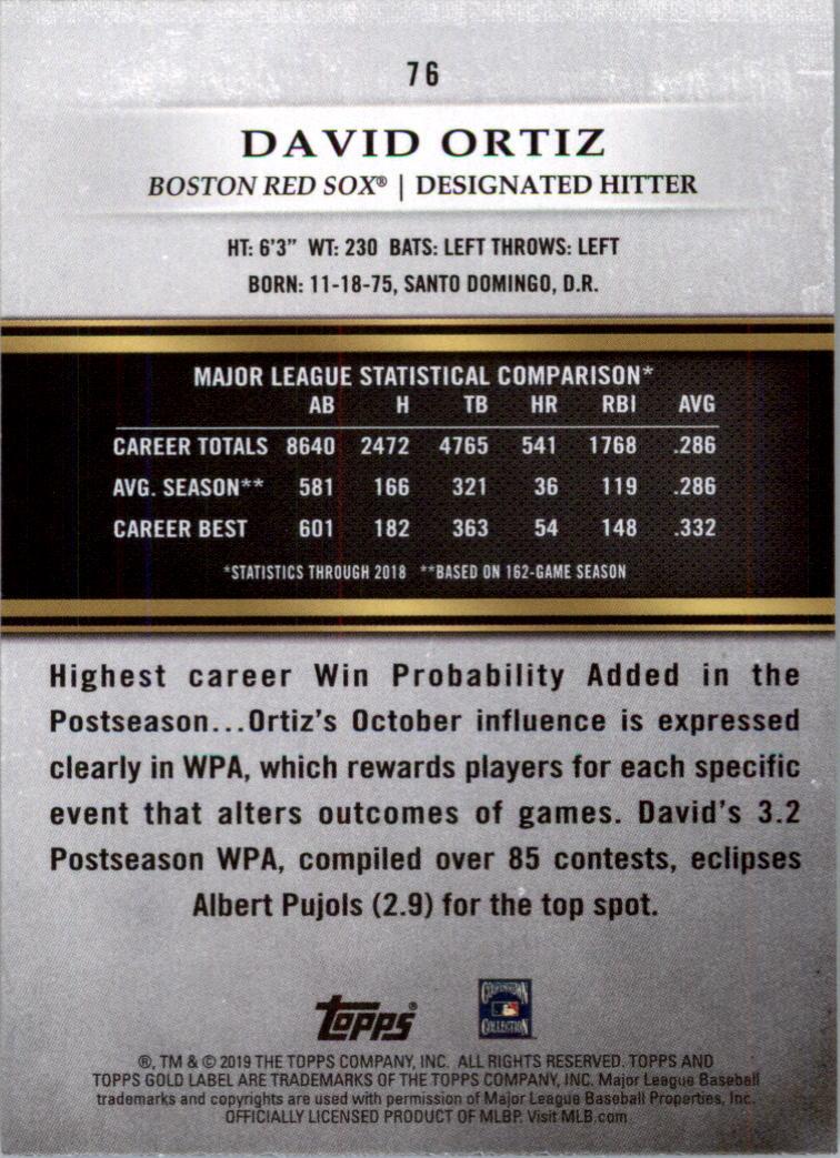 2019-Topps-Gold-Label-Class-2-Baseball-Card-Pick thumbnail 99