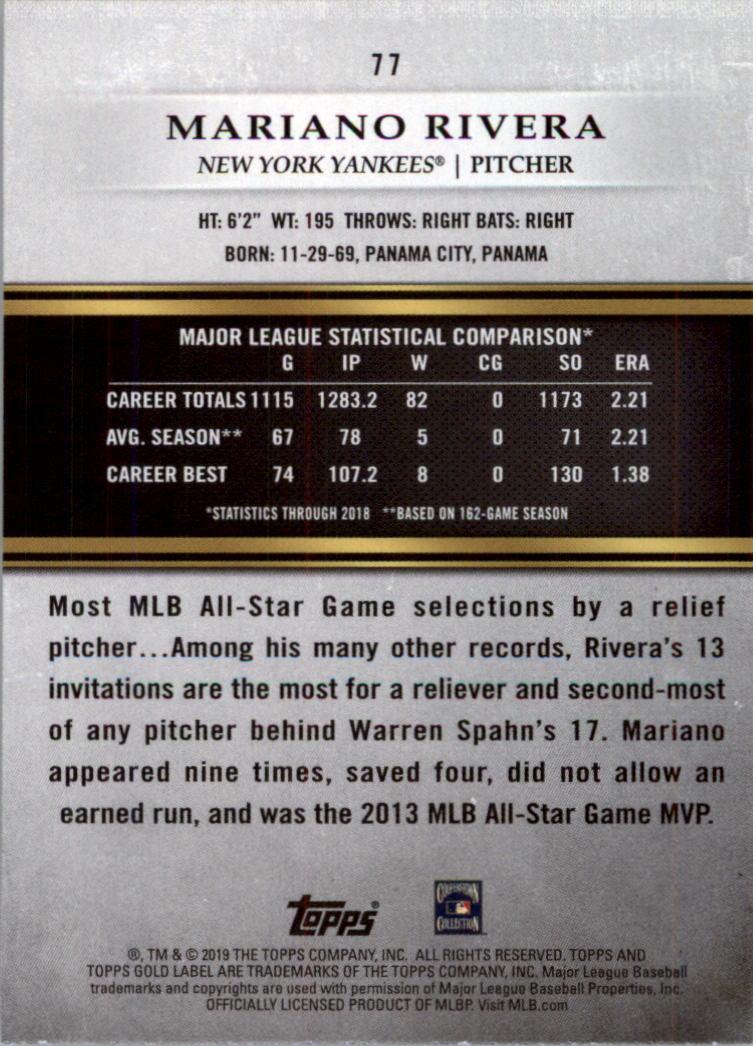2019-Topps-Gold-Label-Class-2-Baseball-Card-Pick thumbnail 101