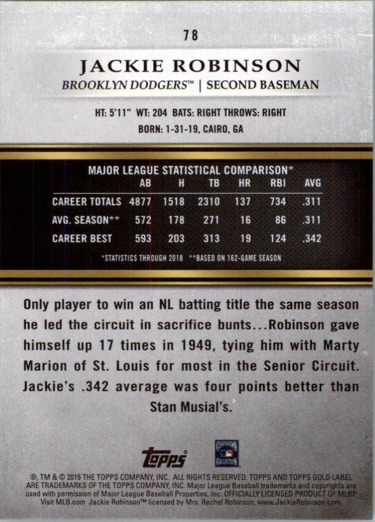 2019-Topps-Gold-Label-Class-2-Baseball-Card-Pick thumbnail 103