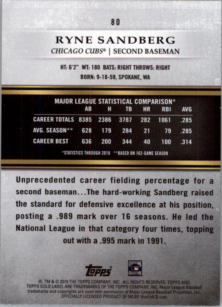 2019-Topps-Gold-Label-Class-2-Baseball-Card-Pick thumbnail 107
