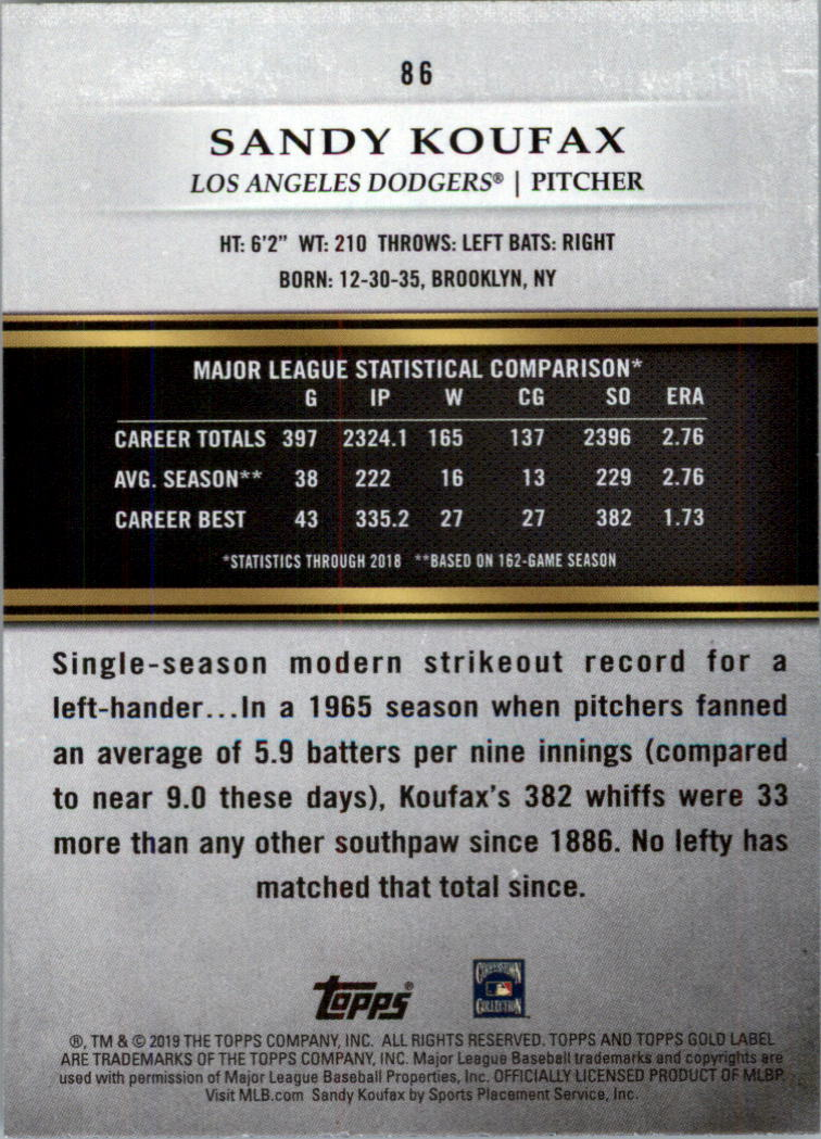 2019-Topps-Gold-Label-Class-2-Baseball-Card-Pick thumbnail 119