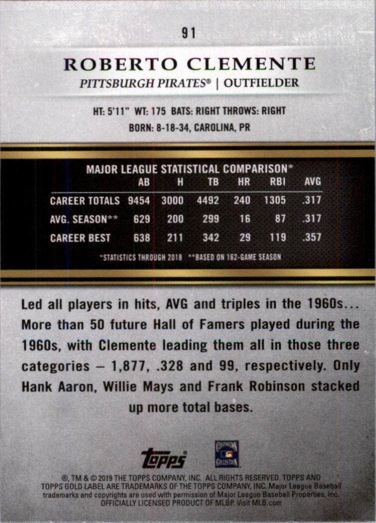 2019-Topps-Oro-Etichetta-Classe-2-Baseball-Scheda-Scegliere miniatura 123