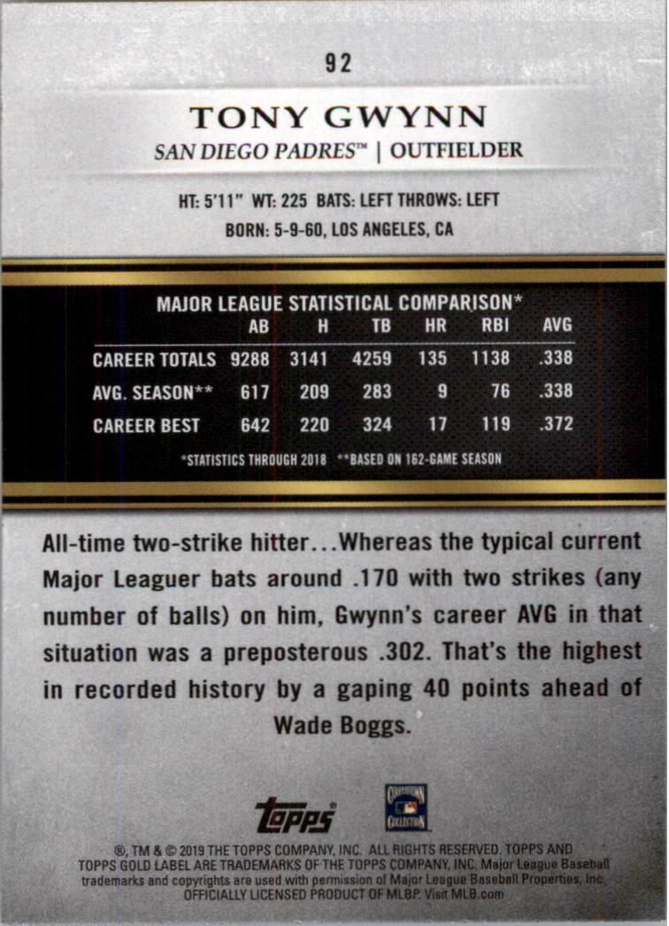 2019-Topps-Gold-Label-Class-2-Baseball-Card-Pick thumbnail 129