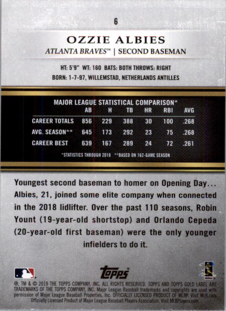 2019-Topps-Gold-Label-Class-2-Baseball-Card-Pick thumbnail 5