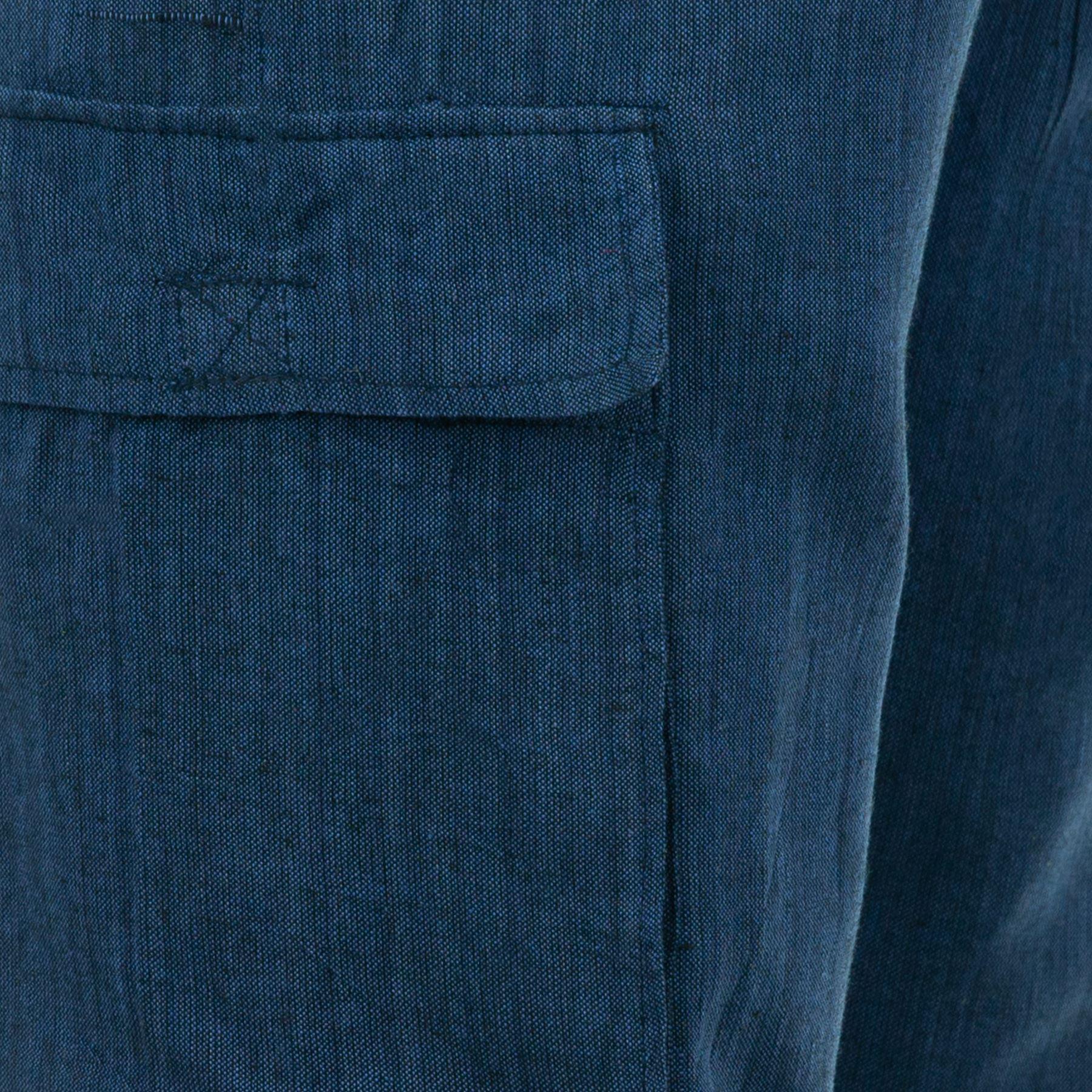 Cotone Militare Pantaloni Elastico Tasche Larga Luce Nepal