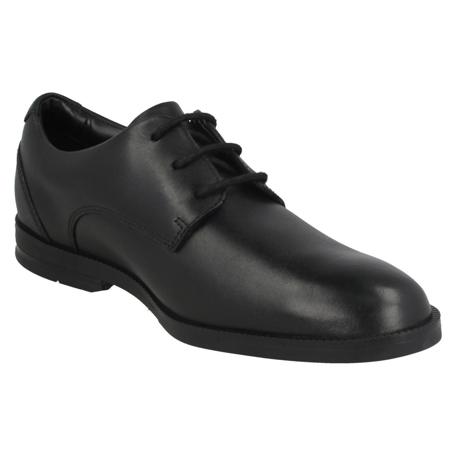 Clarks School Shoes 'Rufus Edge
