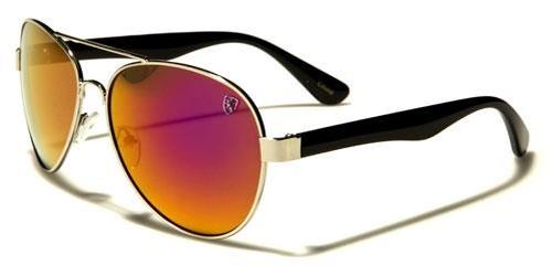 Designer Sonnenbrille Herren Damen schwarze Spiegel Sport METALL Piloten groß mt2S31jD