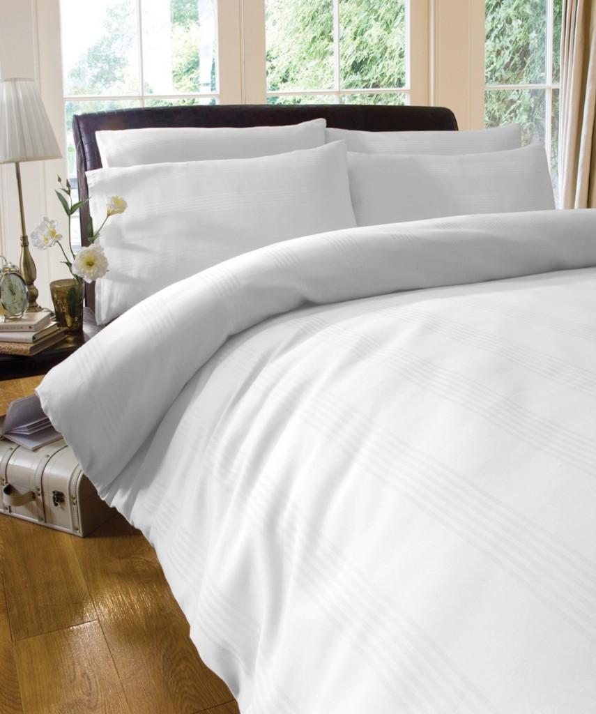 jacquard baumwolle cream wei bettw sche set bettw sche bezug ebay. Black Bedroom Furniture Sets. Home Design Ideas
