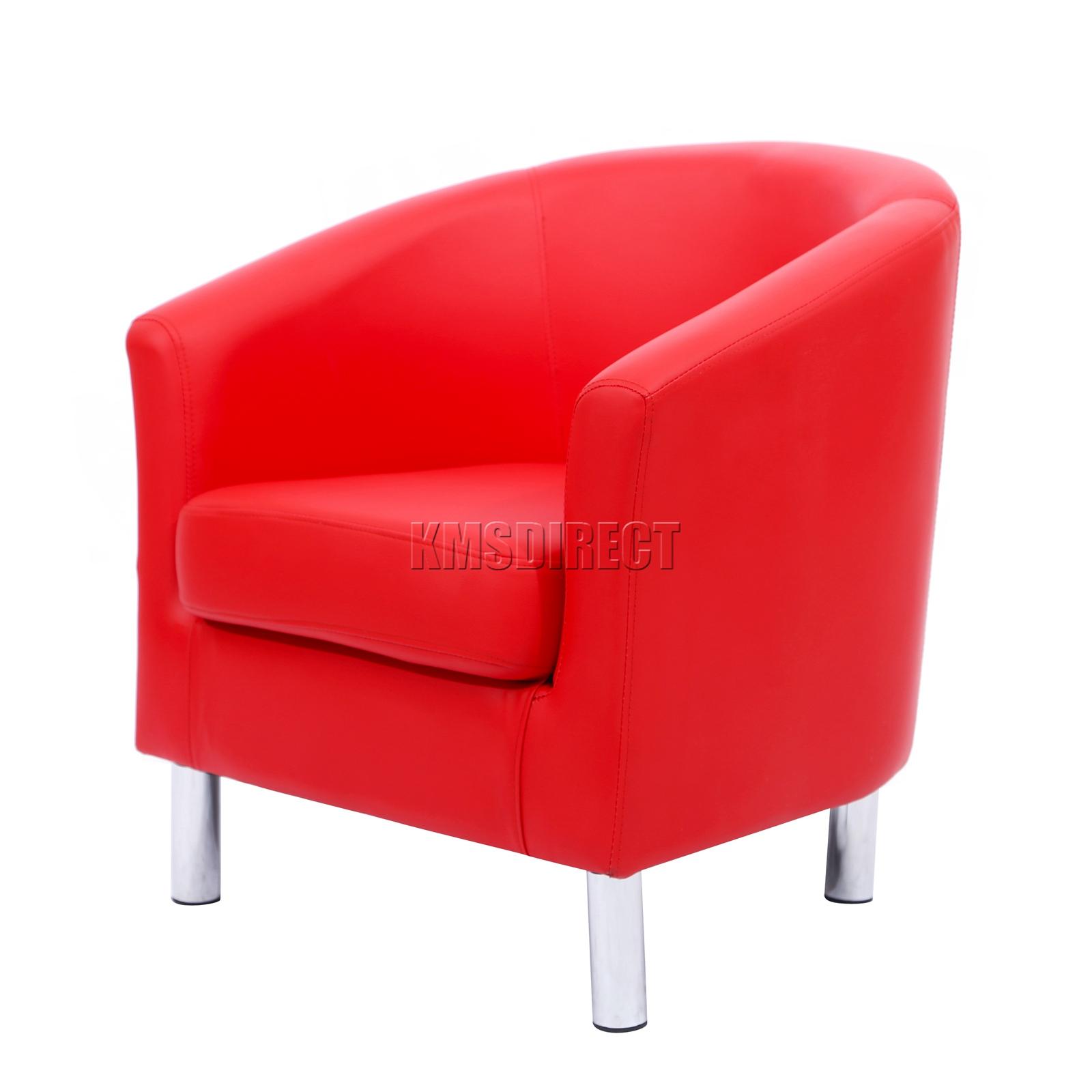 foxhunter modern tub stuhl sessel pu kunstleder mit chrom bein esszimmer ebay. Black Bedroom Furniture Sets. Home Design Ideas