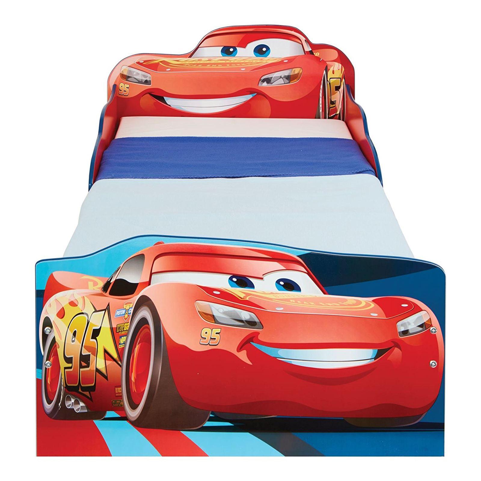 Disney-Personaje-Nino-Camas-con-Almacenamiento-3-Colchon-Option-Disponible-Nuevo miniatura 7