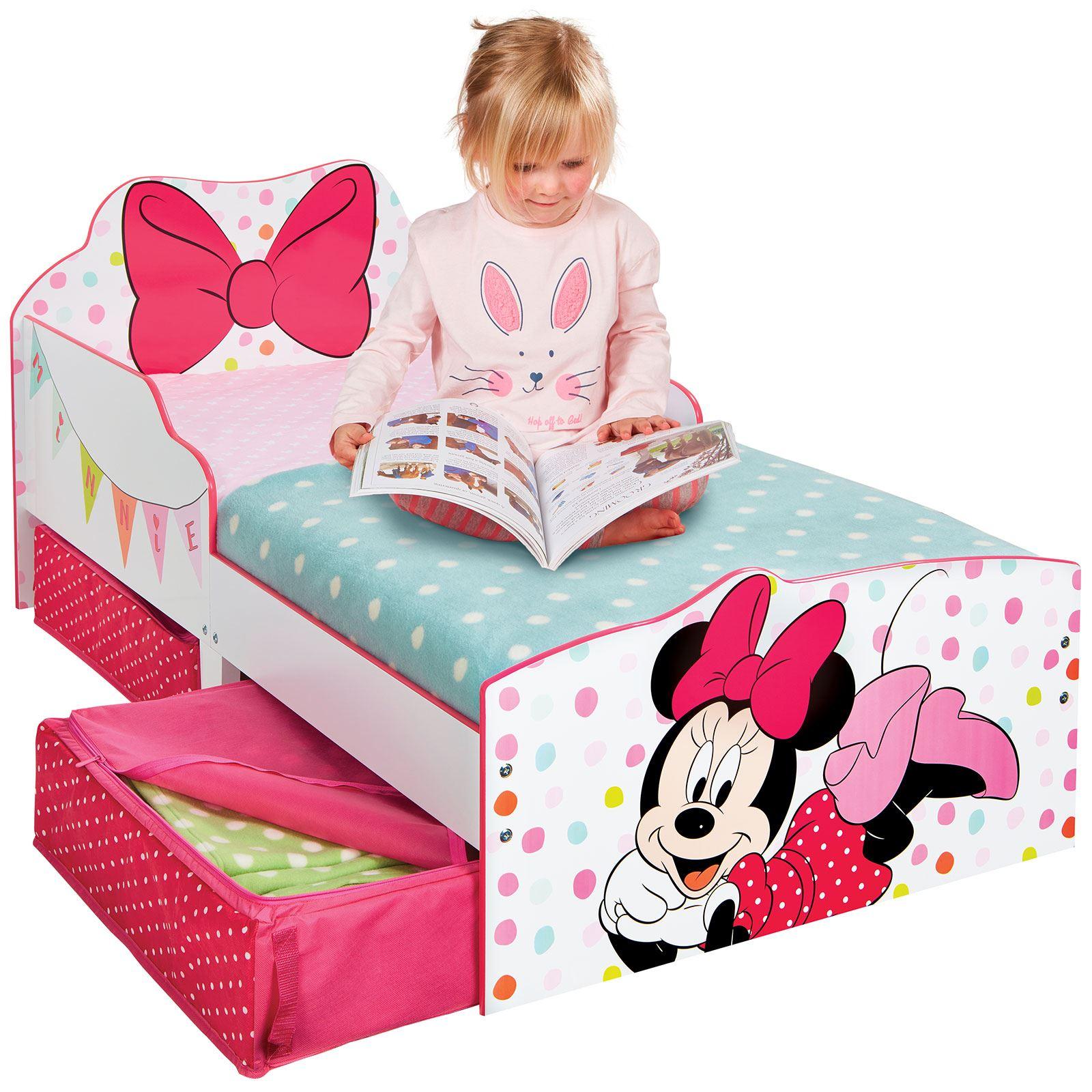 Disney-Personaje-Nino-Camas-con-Almacenamiento-3-Colchon-Option-Disponible-Nuevo miniatura 25