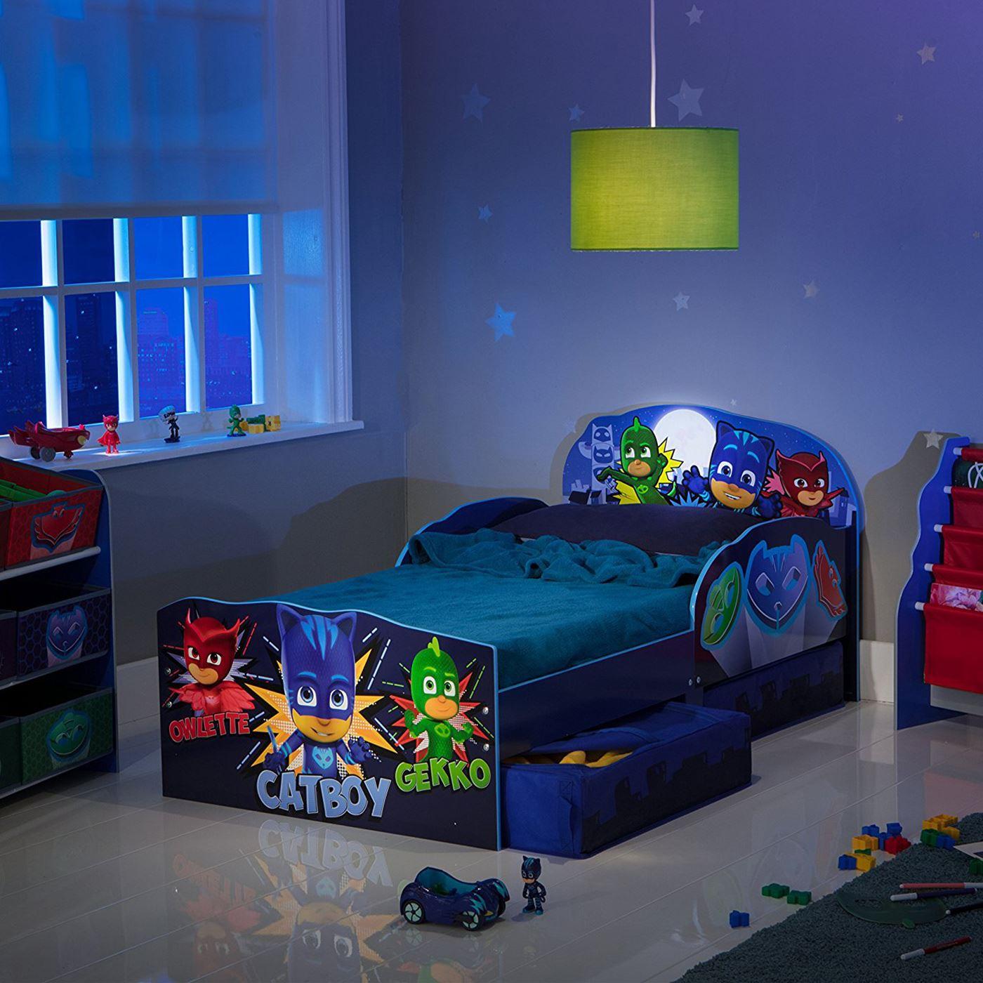 Disney-Personaje-Nino-Camas-con-Almacenamiento-3-Colchon-Option-Disponible-Nuevo miniatura 72