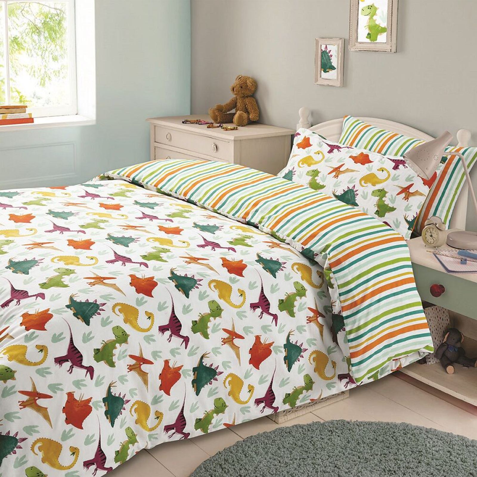 enfants gar ons housse de couette ensembles football jungle camouflage ebay. Black Bedroom Furniture Sets. Home Design Ideas