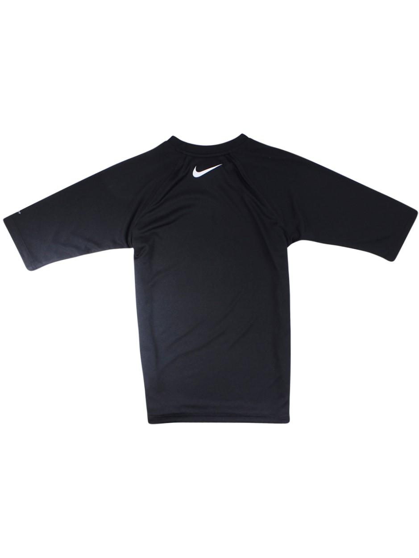 91b9573c2 Nike Big Boy's Solid Half Sleeve Hydroguard Shirt Swimwear | eBay