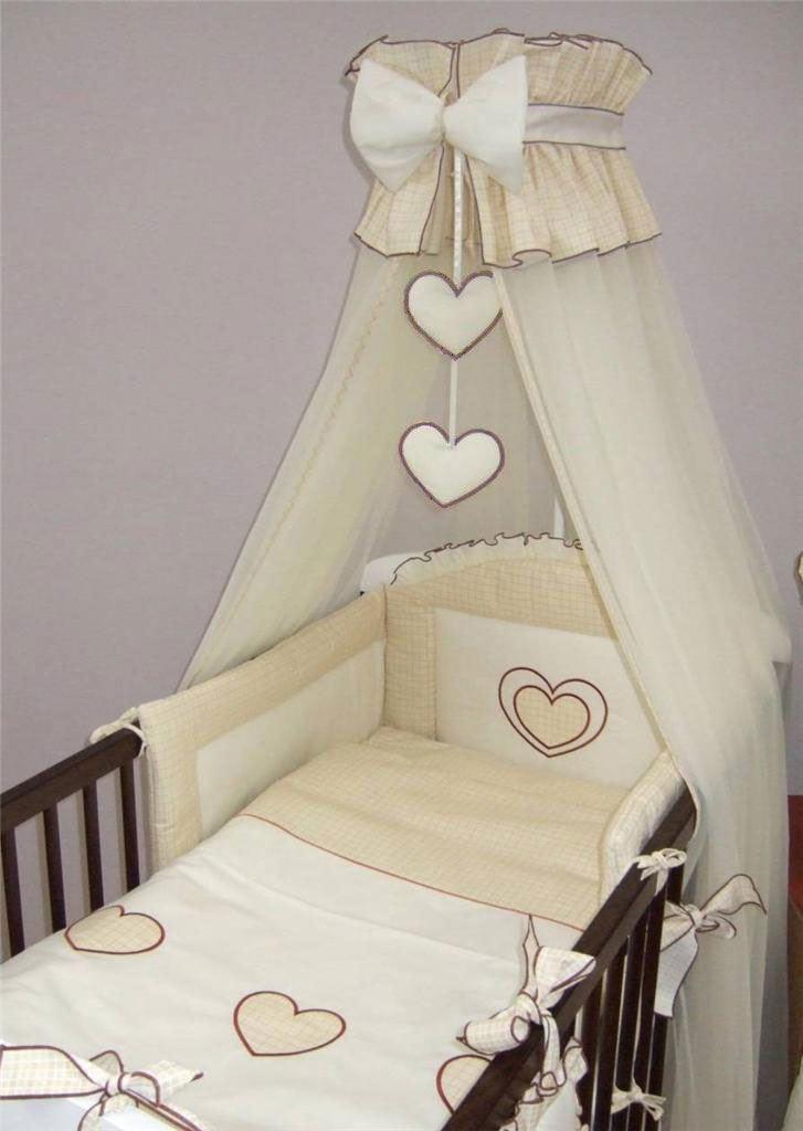 Crown cuna dosel mosquitero grande se adapta a cama cuna - Dosel para cunas ...
