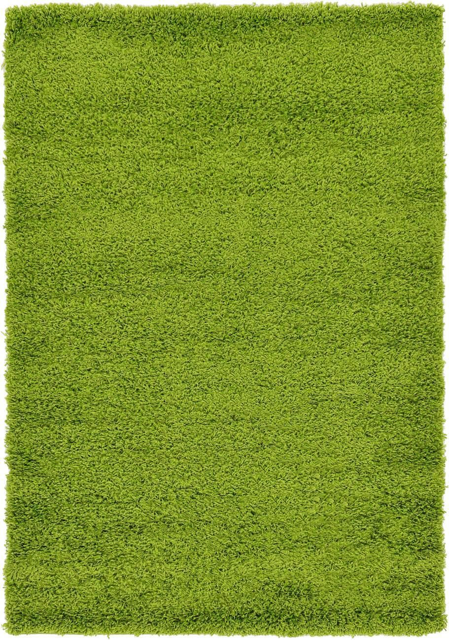 Weich dick shaggy modern flaumig warm farbe teppich klein for Light green carpet texture