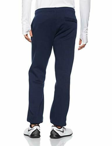 Nike-Hombre-Club-Pantalones-Pantalon-de-Chandal-Polar-Sudor-Negro-Gris-Navy-M-XL miniatura 10